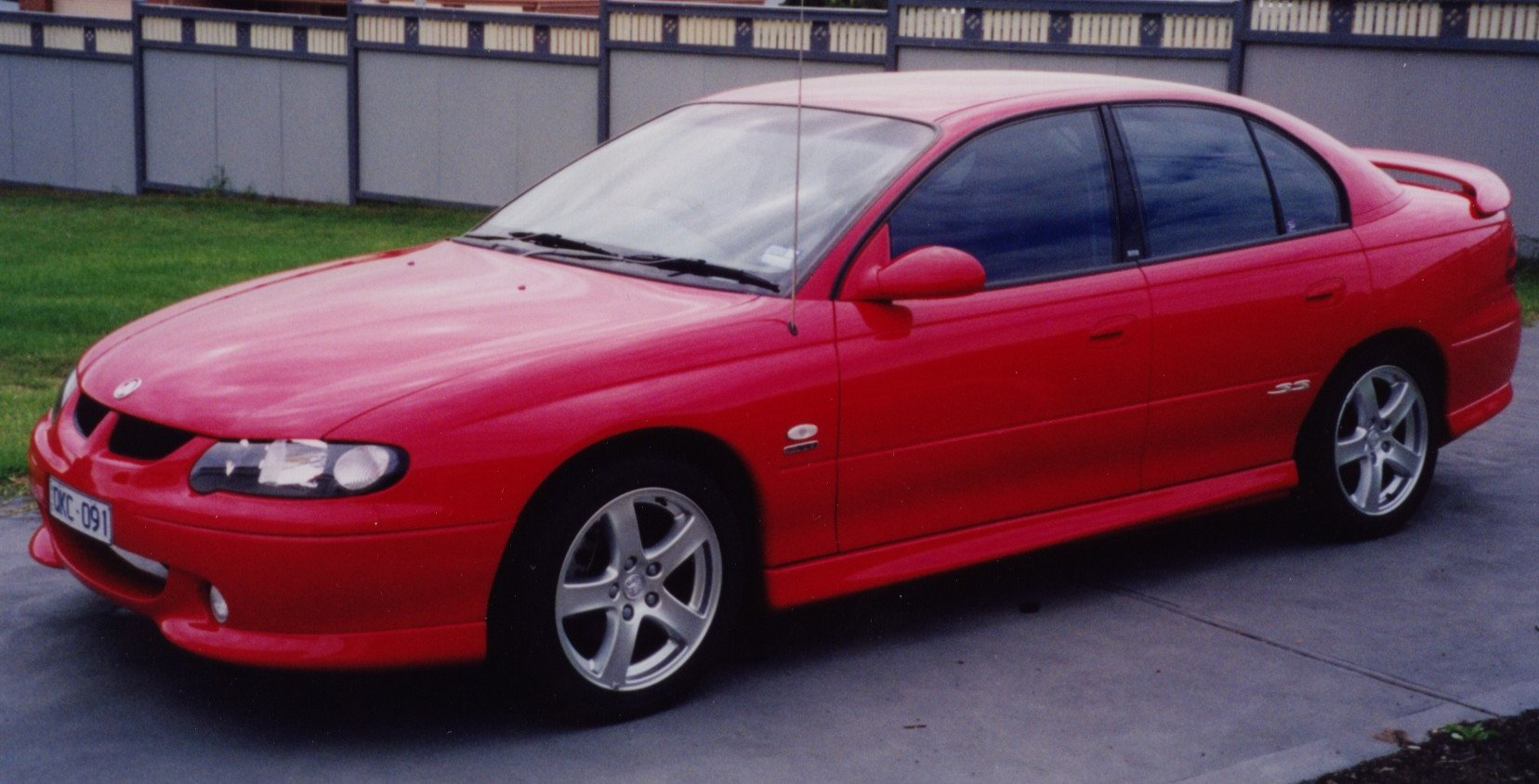 2000 VX Holden Commodore SS